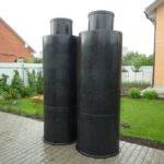 Пластиковые вставки в бетонные кольца